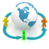 World partner concord Stock Photography