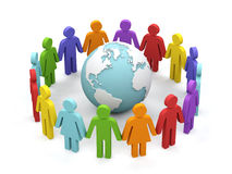 World partnership. Royalty Free Stock Images