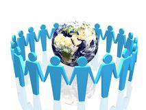 World partnership Stock Photo