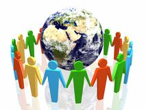 World partnership Royalty Free Stock Photo