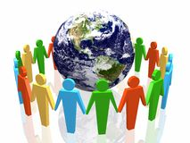 World partnership Royalty Free Stock Photos
