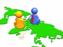 World partnership Royalty Free Stock Photography