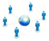 World partnership Stock Images
