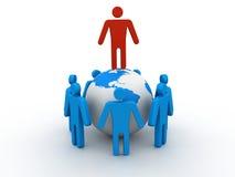 World partnership Stock Photo