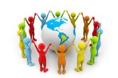 World partnership Royalty Free Stock Image