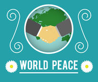 World peace concept Royalty Free Stock Photos