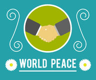 World peace concept Stock Photo