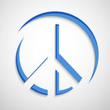World Peace Day background. Illustration of elements for world peace day Royalty Free Stock Photo