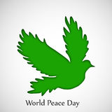 World Peace Day background. Illustration of elements for world peace day Royalty Free Stock Photography