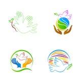 World peace dove Royalty Free Stock Image