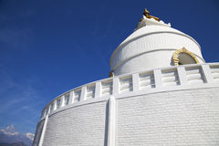 World Peace Stupa, Pokhara, Nepal Royalty Free Stock Photo