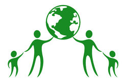 World peace symbol Stock Images