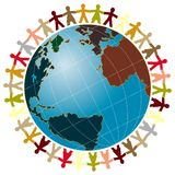 World peace  ( Vector ) Stock Photography
