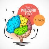 World Philosophy Day. Stock Photo