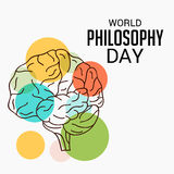 World Philosophy Day. Royalty Free Stock Photos