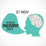 World Philosophy Day. Stock Image