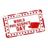 World Philosophy Day. Stock Photos