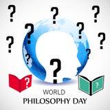 World Philosophy Day. Royalty Free Stock Image