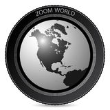 World photo lens Stock Photos