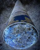 The world on a pillar Royalty Free Stock Images