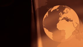 World planet concept motion background stock video