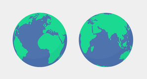 World planet Earth globe icon isolated Stock Photography