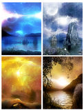 World of planets Royalty Free Stock Images