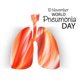 World Pneumonia Day Royalty Free Stock Photography