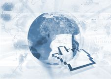 World Pointer Stock Photo