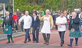 World Porridge making Championship. Stock Photos