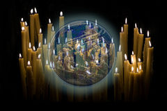 World Pray Stock Photo