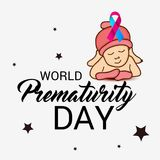 World Prematurity Day. Royalty Free Stock Images