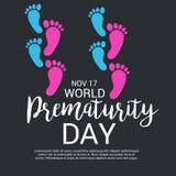 World Prematurity Day. Stock Photo