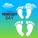 World Prematurity Day. Royalty Free Stock Photography