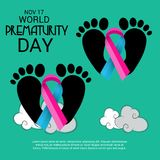 World Prematurity Day. Stock Image