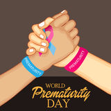 World Prematurity Day Stock Images