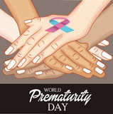 World Prematurity Day Royalty Free Stock Images