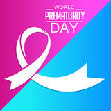 World Prematurity Day Royalty Free Stock Image