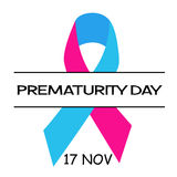 World Prematurity Day Royalty Free Stock Photography