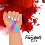 World Prematurity Day Royalty Free Stock Photo