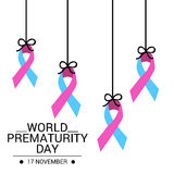 World Prematurity Day Stock Photography