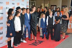 World Premiere of `First They Killed My Father` with Director Angelina Jolie at Toronto International Film Festival Stock Photos