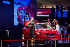 World premiere of Mazda 6 Stock Image