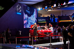 World premiere of Mazda 6 Stock Photos