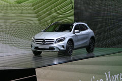 World Premiere new Mercedes Benz GLA-Class Royalty Free Stock Photo