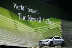 World Premiere new Mercedes Benz GLA-Class Royalty Free Stock Photos