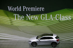 World Premiere new Mercedes Benz GLA-Class Stock Photo