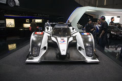 World Premiere of the Peugeot 908 stock photos