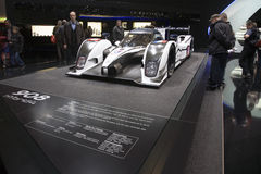 World Premiere of the Peugeot 908 Hybrid4 Geneva Stock Photo