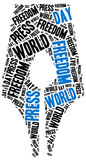 World press freedom day. Celebrated on 1st May. Royalty Free Stock Image